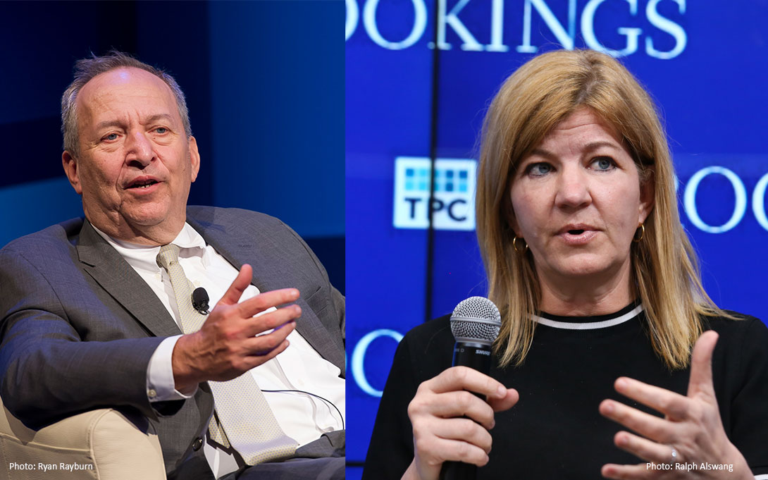 Lawrence Summers and Maya MacGuineas