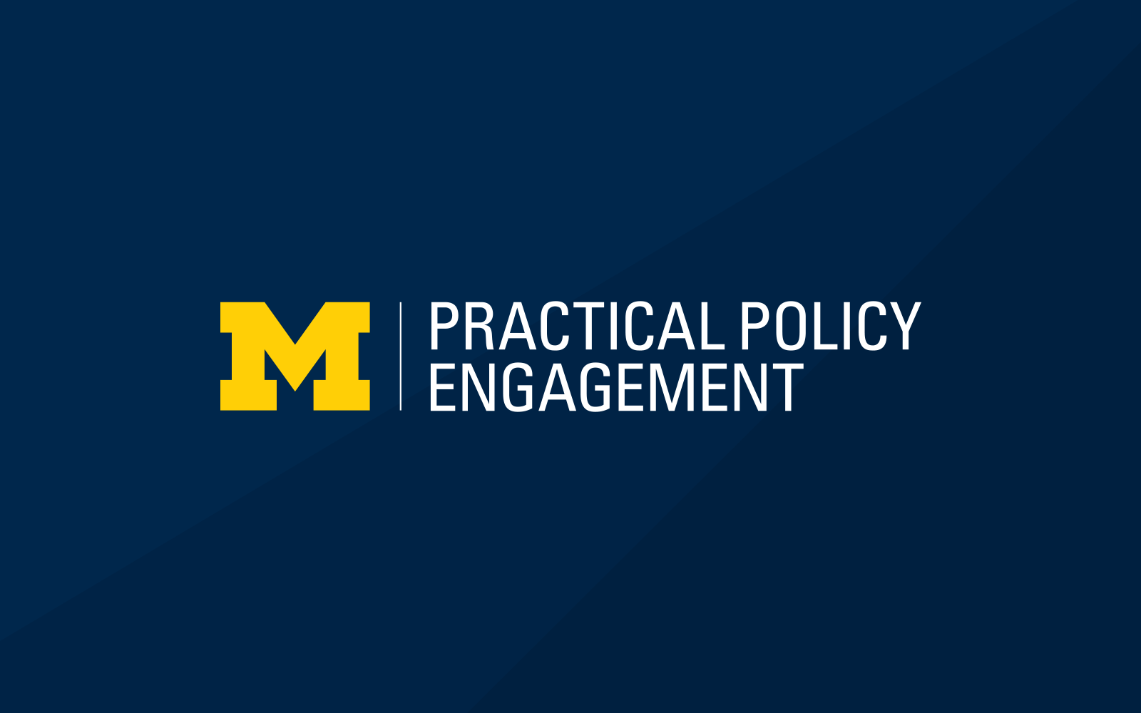 Program in Practical Policy Engagement informal logo