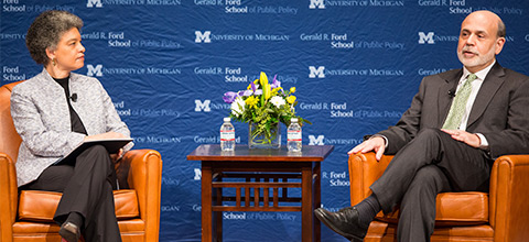 Link to:A Conversation with Federal Reserve Chairman Ben Bernanke