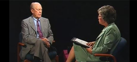 Link to:Becky Blank interview with Gerald Ford