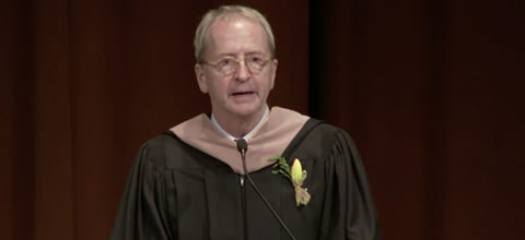 Link to:David Bohnett's keynote commencement speech, with introduction from Michael Barr