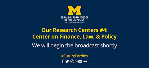 Link to:Our Research Centers: Center on Finance, Law, & Policy