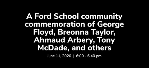 Link to:Ford School Community Commemoration