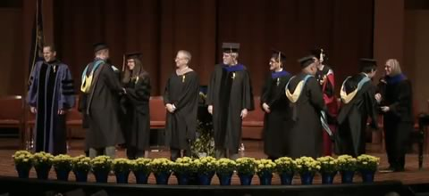 Link to:Graduates and closing - 2018 Ford School Commencement