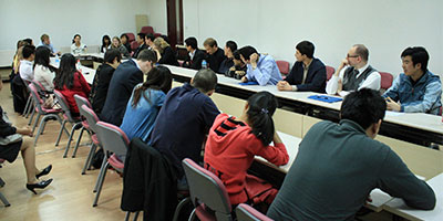 Chinese Policy Course students