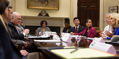 Susan Dynarski at the 2014 White House Summit on College Affordability