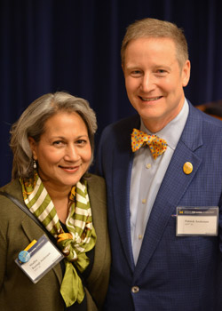 Madhu Rustagi Anderson (MPP '84) and Patrick Anderson (MPP '83)