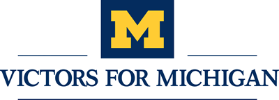 Victors for Michigan logo