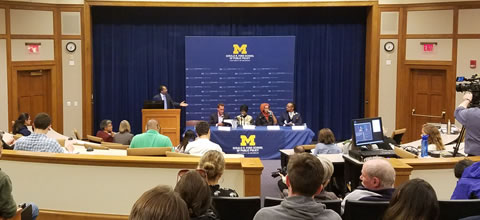 Link to:Public Policy and the Ongoing Flint Water Crisis panel