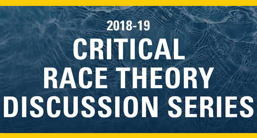 """Critical Race Theory Discussion Series"""