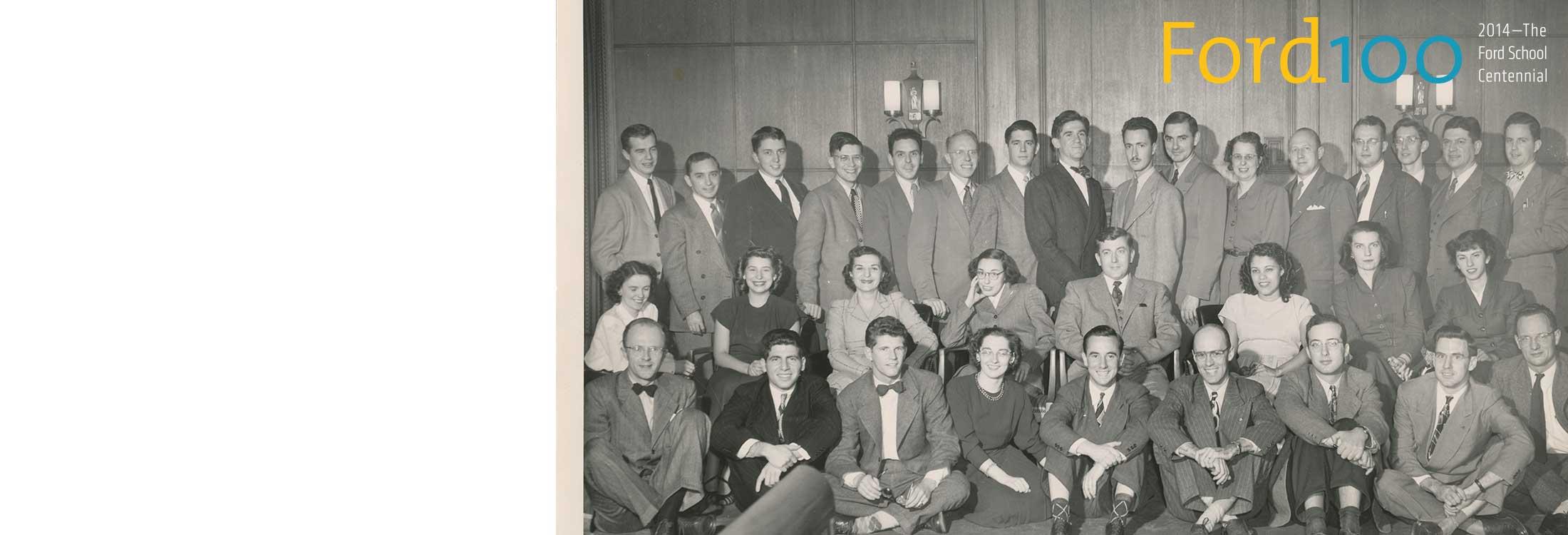 2014:The Ford School Centennial