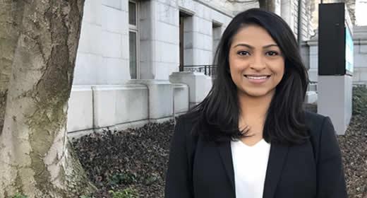 Anita Ravishankar will use her Rackham Grants in Public Scholarship award to research trust and legitimacy between police and communities in Washington, DC.