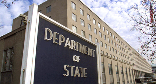 Axelrod begins State Department fellowship image