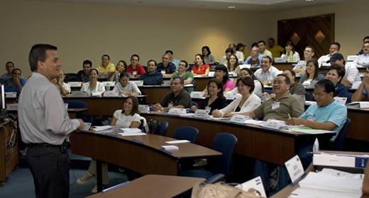 INCAE classroom