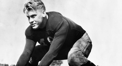 Michigan to recognize Gerald R. Ford as Michigan Football Legend  image