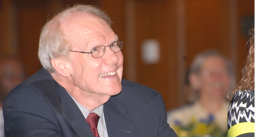 Symposium honors Jim House; 35 years of teaching, service image