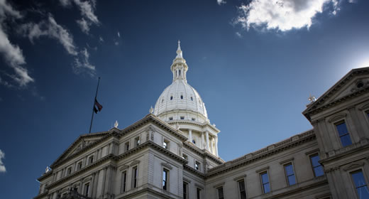 Photo of Michigan capitol