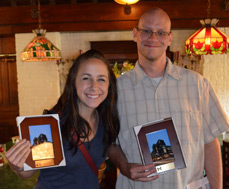 Lindsay Price and Tom Cook receive 2014 Staff Recognition Awards image