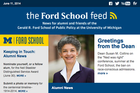 Read 'the Ford School feed' image