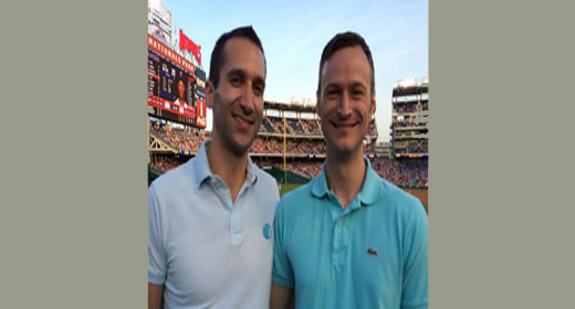 Major league fun for Ford School alums, students image