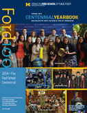 Introducing…the 2014 undergraduate student yearbook image