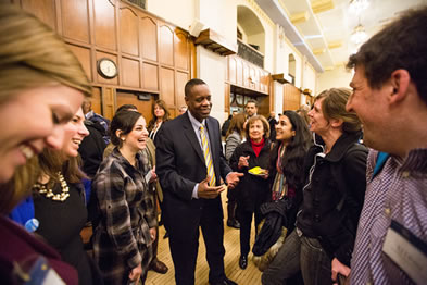 Kevyn Orr, Detroit's emergency financial manager, speaks at the Ford School image
