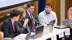 Students tackle Great Lakes policy challenges in Integrated Policy Exercise image