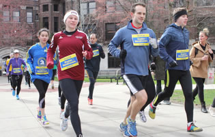 Ford School community participates in run to honor victims of Boston Marathon bombing image