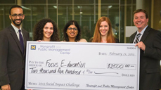 Ford School MPP student among winners of 2013 Social Impact Challenge image