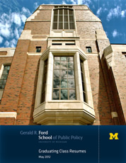 Employers can now access 2013 Ford School resume books electronically image