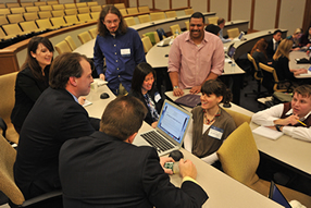Students flex policy muscles in Integrated Policy Exercise image