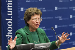 Former dean and Acting U.S. Secretary of Commerce Rebecca M. Blank returns to the Ford School image