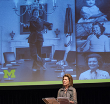 U-M and Ford School pay tribute to the life and legacy of Betty Ford image