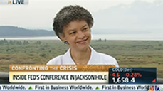 The Fed needs to act, communicate more boldly, Dean Susan Collins tells CNBC image