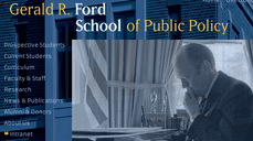 Ford School launches visually refreshed website—the first phase of a two-part comprehensive site redesign image