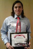 Forrest Cox (BA '13) honored as a 2012 MLK Spirit Award recipient  image