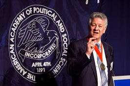 Sheldon Danziger, Becky Blank named 2010 American Academy of Political and Social Science Fellows image