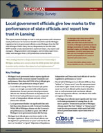 CLOSUP statewide survey: Local government leaders give low marks to state officials image