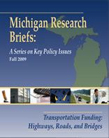 CLOSUP publishes brief on Michigan's transportation funding image