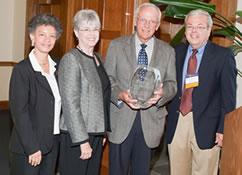 Doug Brook (MPA '67) recognized with Neil Staebler Alumni Service Award image