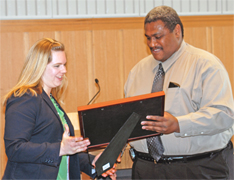The Ford School's Megan Piersma won a 2008 U-M Distinguished Diversity Leaders Award image