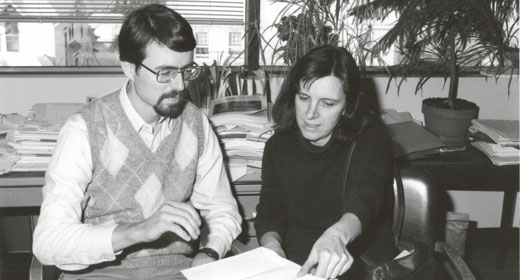 Photo of Greg Duncan and Mary Corcoran
