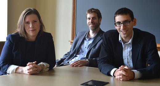 Photo of Beth Chimera, David Morse, and Alex Ralph