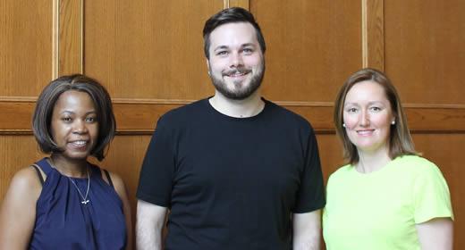 Alex Thebaud, Nick Pfost, and Zuzana Wiseley