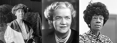 Link to:Celebrating a century of trailblazing women in U.S. government (1916 - 2016)