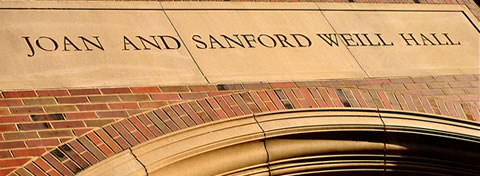 Link to:10 benefits to 10 years in Joan and Sanford Weill Hall