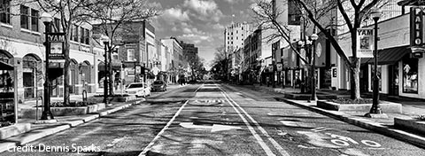 Link to:Ann Arbor may repurpose streets to accommodate pedestrian and cyclist social distancing