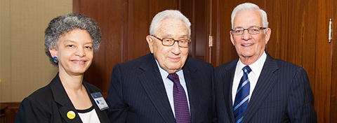 Link to:An evening with Henry Kissinger and Paul O'Neill honors President Ford's centennial