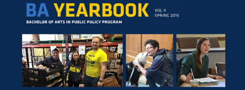 Link to:2015 Ford School BA yearbook released, celebrates undergraduate students and alumni