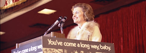 Link to:Being ladylike does not require silence, the irrepressible First Lady Betty Ford